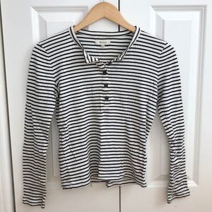 Striped Madewell long sleeve